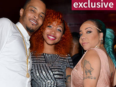 Why'd T.I.'s Stepkid Bring a GUN to the Airport? Zonnique & Tiny Speak Out!