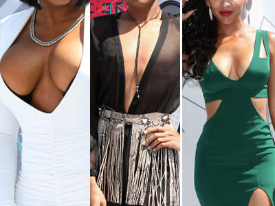 Cleavage & Heavage! See All the WILD Style at the 2016 BET Awards!
