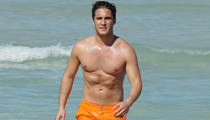 Diego Boneta -- Orange You Glad I Ditched My Shirt?