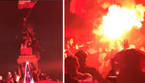 Copa America 2016 -- No Chill In Chile ... Pyro Party After Big Win (VIDEO)