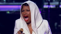 Jennifer Hudson Pays Off Prince Threat at BET Awards