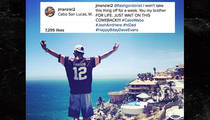 Johnny Manziel: Screw You, Dad ... I'm Partying in Mexico