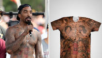 NBA's J.R. Smith -- Selling My Body ... Tatted Tees Making Huge $$ (PHOTOS)