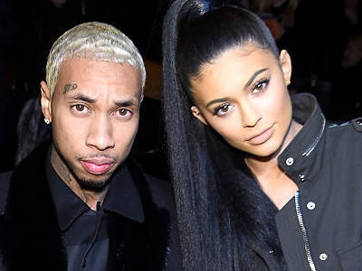 Tyga & Kylie Share Serious PDA at Khloe's Birthday -- See Pic INSIDE the Bash!