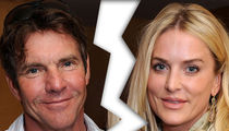 Dennis Quaid's Wife Files for Divorce ... Again