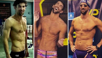24 Shirtless Shots of Michael Phelps To Celebrate The Swimmer's Birthday