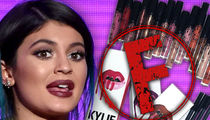 Kylie Jenner Cosmetics -- Your Lips Look Great ... But Your Company Gets an F!