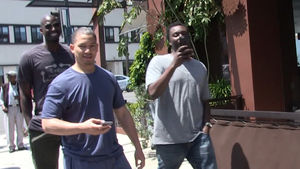 NBA's Kevin Garnett -- Hangin' with Ty Lue ... In Bev Hills