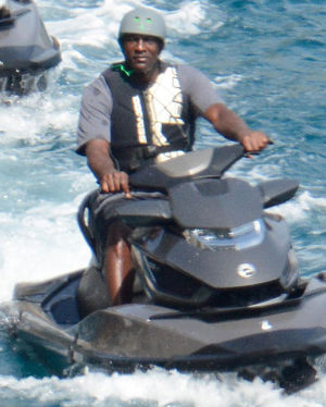 Michael Jordan -- Just Sea Doo It!