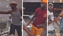 D-Wade, Lebron & CP3 -- Yacht Dance Party (VIDEO)