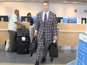 John Cena's Crazy Plaid Suit -- Dope ... Or Nah?