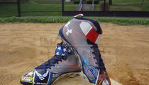 MLB's Bryce Harper -- Sick July 4th Cleats ... Most Patriotic Kicks Ever?? (PHOTO)