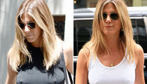 Jennifer Aniston -- Weather Report ... Still Chilly