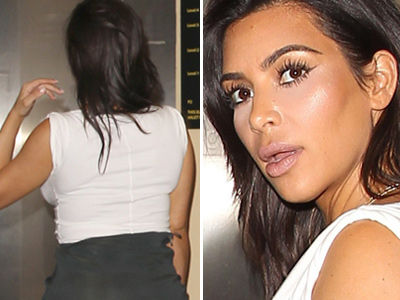 Kim Caught Wearing BUTT PADS?! See Suspicious Pic & What She's Saying Now!