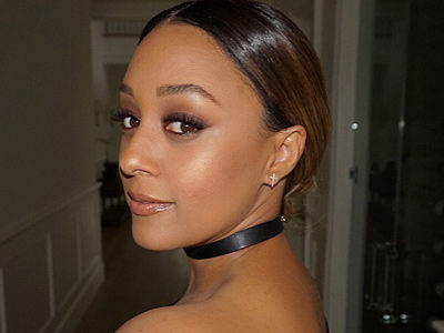 Tia Mowry Goes Makeup-Free On Vacation With Her Hubby -- She Looks AMAZING!