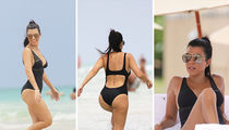 Kourtney Kardashian -- Suns Out, Buns Out In Miami (PHOTO GALLERY)