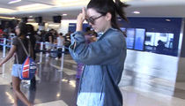 Kendall Jenner -- Covers Face ... But Not House (VIDEO)