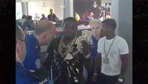 Adrien Broner -- TSA Profiles Boxer ... As a Baller!!!