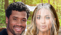 Ciara & Russell Wilson -- Getting Married Today ... No Cell Phones Allowed