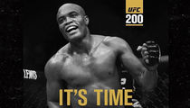 Anderson Silva -- Jumps the Gun ... No Decision Yet on Cormier's UFC 200 Opponent