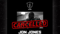 Jon Jones -- Rush to Scrub His Face From Everywhere ... Now That Party's Over (PHOTOS)