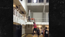 Viral Star Bdot -- Thunderous Dunks Be Like ... Throws One Down In Hoops Game (VIDEO)