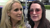 Kim & Kyle Richards Sued -- Kingsley the Pit Bull Strikes Again