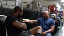 Daniel Cormier -- The Moment Dana White Broke News About Jon Jones Fight (VIDEO)
