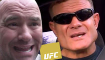 UFC 200 -- Former Fighter's Death Threat Against Dana White ... Plans To Show with Gun