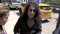 Alice Cooper -- Joe Perry Is Stable ... Future Gigs Up in the Air (VIDEO)