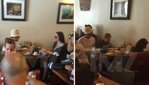 Brad Pitt & Angelina Jolie -- Son Gets Breakfast of Champions (Birthday Edition) (PHOTOS)