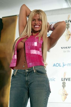 anna nicole smith fat pictures
