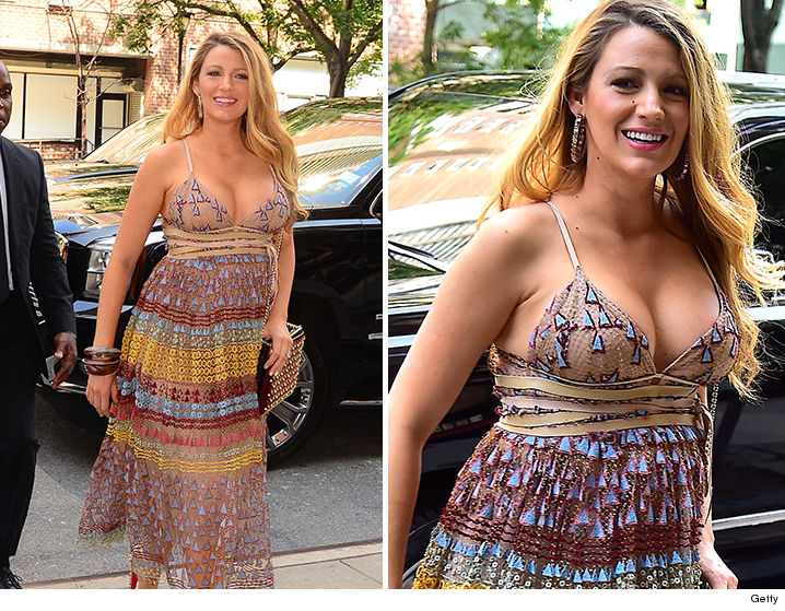 blake lively l a face and cleavage tmz