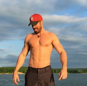 Chad Johnson's Shirtless Shots