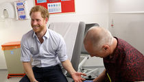 Prince Harry -- HIV/AIDS Test Results ... It Only Takes a Minute (PHOTO + VIDEO)