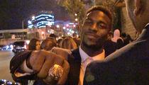 NFL's Emmanuel Sanders -- I Never Take Off My Super Bowl Ring ... Not Even When I ... (VIDEO)