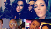 Kendall Jenner -- Sky's the Limit When I'm Hosting ... Just Ask Floyd, Kim & Calvin (PHOTO GALLERY + VIDEO)