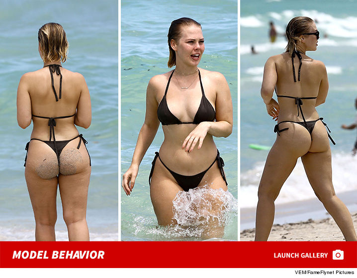 Swimsuit Designer Bianca Elouise Rearing Up In Miami