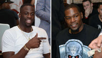 Kevin Durant & Draymond Green -- Stone Cold Stunnin' ... At Team USA Dinner (PHOTOS)
