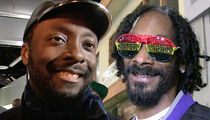 Will.i.am, Snoop Dogg -- The Time Is Right ... We're Bringing Back 'The Love'