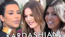 Kardashians -- Girls Have Legal Right to Talk Trash on Beauty Co.