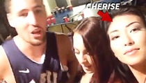 Klay Thompson -- I'm NOT DATING 'Graffiti' Chick ... She's A Friend Of A Friend (VIDEO)