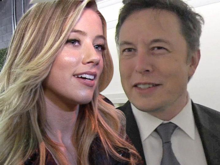 Amber Heard: Hangin' a... Amber Heard Elon Musk