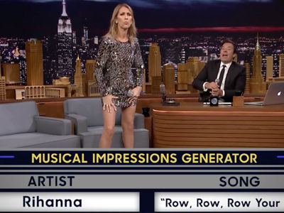 Celine Dion CRUSHES Musical Impressions of Rihanna, Sia & More -- SO GOOD!