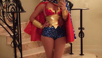 Guess the Sexy Star Crushing it in This Wonder Woman Cosplay
