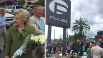 Hillary Clinton Visits Pulse Nightclub and Victims' Families