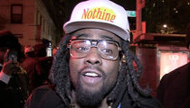 Wale -- Sorry, Can't Play My Show ... I Just Had a Baby!!!