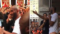 Kobe Bryant -- Crowd Goes Insane In Italy ... 'Feels Like I've Returned Home' (Video)