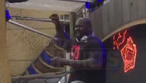 Shaq -- Most Dominant DJ Ever ... Spins 1&2's At HUGE EDM Festival (VIDEO)