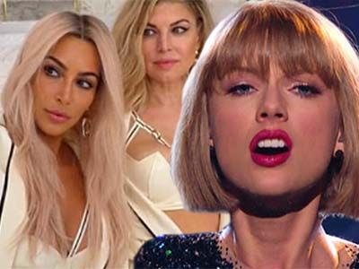 WHOA! Did Fergie Just Blow Kim, Kanye, & Taylor Swift's Cover?! WTF is THIS?!